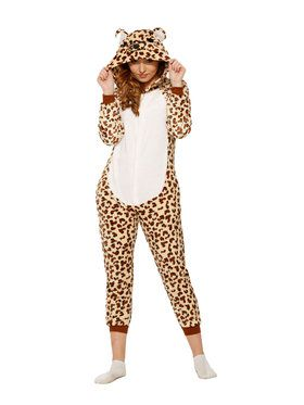 Leopard Jumpsuit Costume for Adults