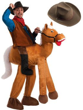 Adult Lil Nas Old Town Road Ride A Horse Costume