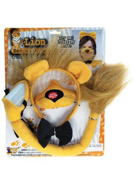 Lion Set with Sound For Adults