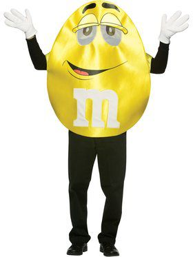 Adult M&m's Yellow Character Costume