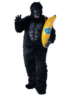 Funny Monkey Costume With Accessory