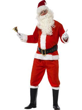 Adult Medium Santa Costume Deluxe