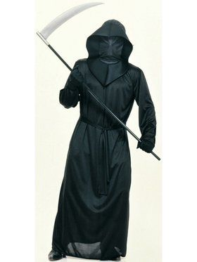 Adult Mens Mesh Face Robe