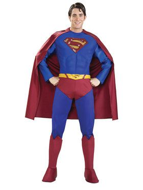 Adult Men's Superman Costume