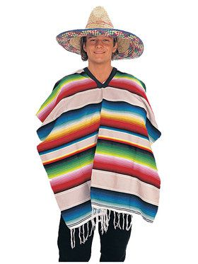 Hispanic Fun Poncho