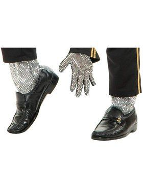 Adult's Michael Jackson Sequin Glove and Leggings