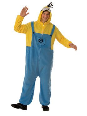 Adult Minion Jumpsuit For Adults