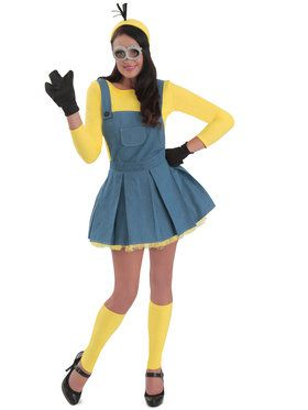 Adult Minions Jumper Costume