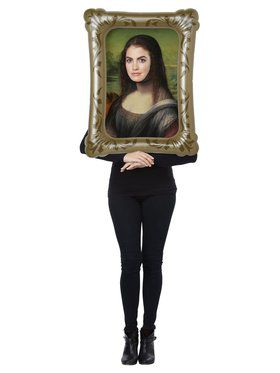 Adult Mona List Kit Costume