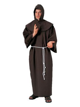 Costume Adult Monk Robe Classic Super Deluxe