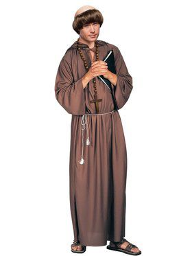 Adult Monk Robe (Poly) Adult Costume