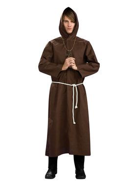 Monk Robe Costume for Adults