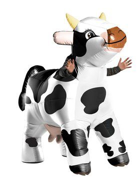 The Cow Inflatable Moo Moo Adult Costume