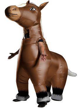 Mr. Horsey Adult Funflatable Costume