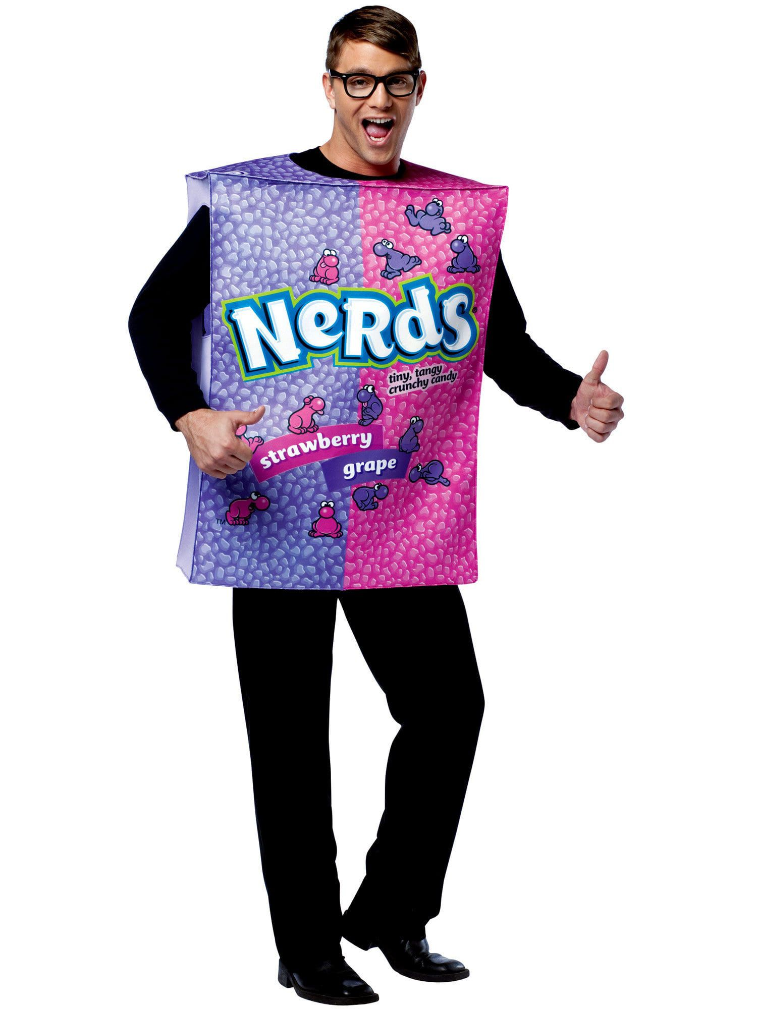 adult nestle nerds box unisex costume - mens costumes for 2018