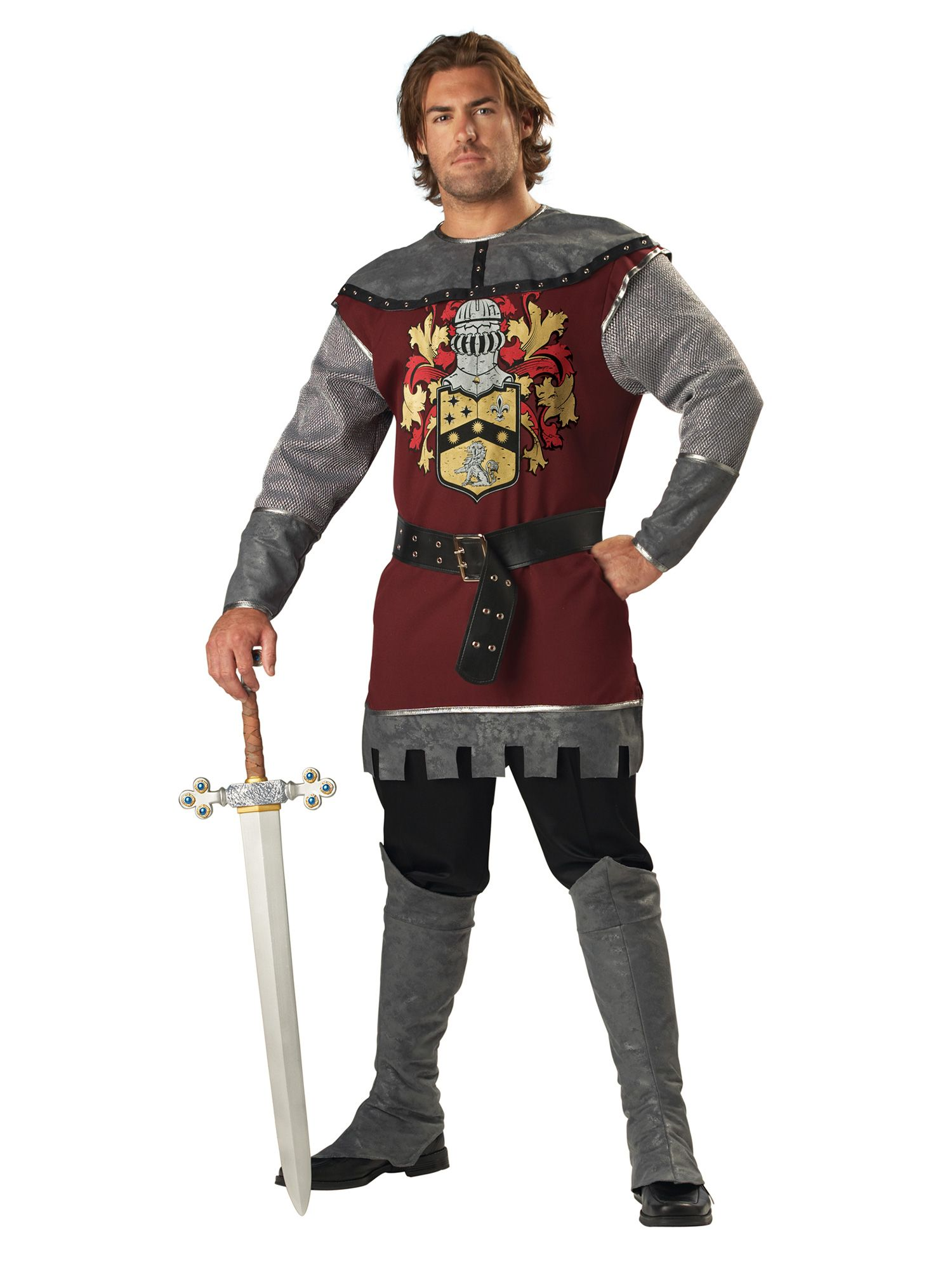 Incharacter Mens Noble Knight Costume