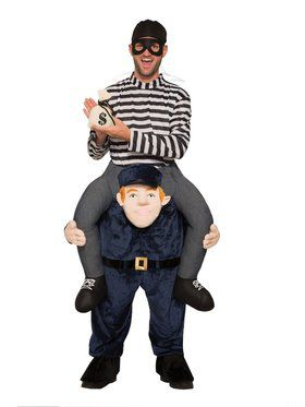 Officer Carry Me Adult Costume