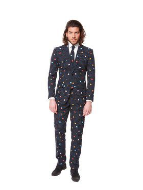 OppoSuit Pac-Man Suit and Tie