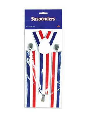 Adult Patriotic Suspenders