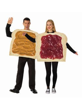 Couples Peanut Butter and Jelly Costume