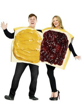 Adult Peanut Butter and Jelly Men's Costumes