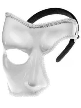 Adult Phantom Mardi Gras Mask Deluxe