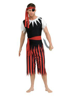 Pirate Man Costume for Adult
