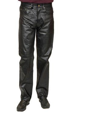 Adult's Four Pocket Pleather Pants