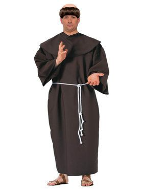 Plus Size Mens Monk Costume