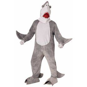 Chomper the Shark Plush Costume for Adults
