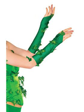 Poison Ivy Glovelettes for Adults