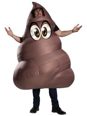 Poop Adult Funflatable Costume
