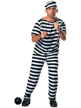 Chain Gang Adult Mens Prisoner Costume