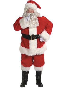 Adult Professional Santa Suit