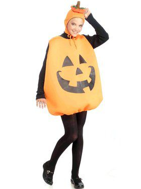 Adult Pumpkin Tunic Women's Costume