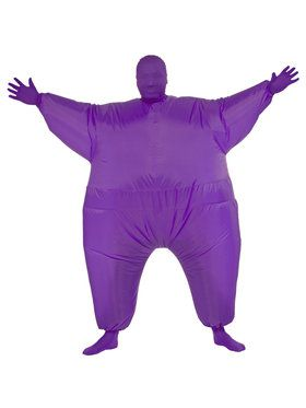 Purple Inflatable Adult Costume