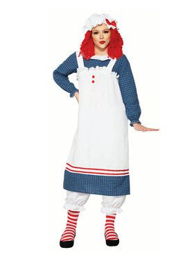 Adult Raggedy Ann Costume