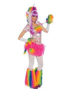 Rainbow Unicorn Costume for Adult