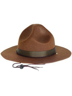 Adult Ranger Happy Hat