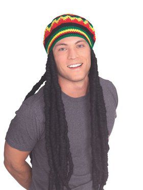Rasta Wig Cap for Adult
