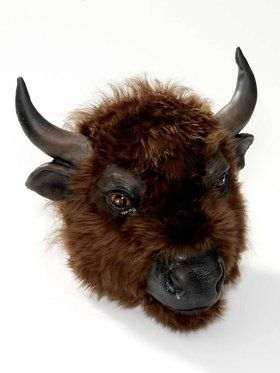 Adult Realistic Buffalo Mask