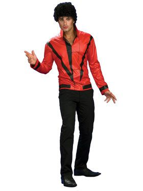 Adult Red Michael Jackson Thriller Jacket