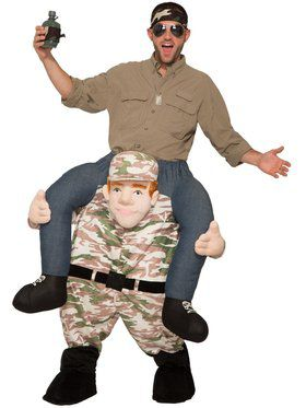 Ride-A-Soldier Adult Costume