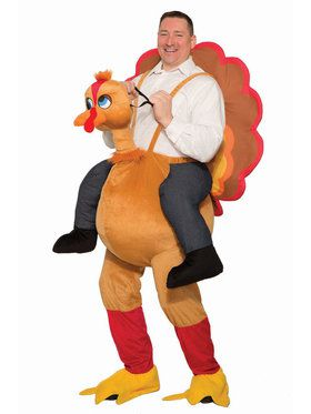 Ride A Turkey Adult Costume