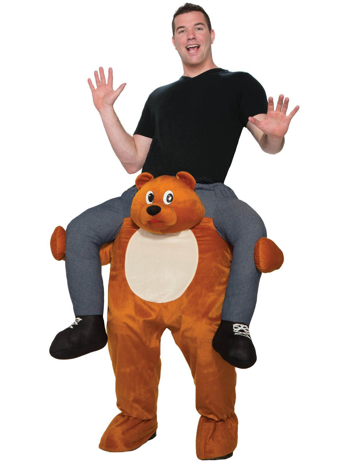 adult ride on a teddy bear costume - mens costumes for 2018