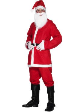 Adult Santa Suit Disposable