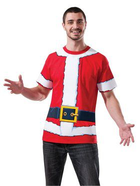 Santa T-shirt for Adults