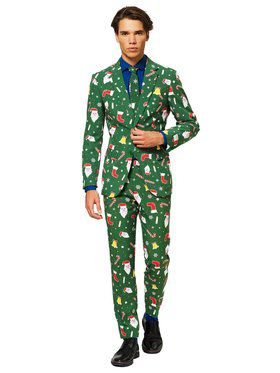 Adult Santaboss Opposuit for Men