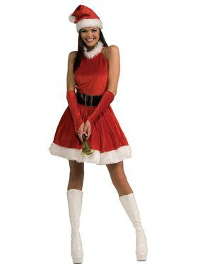 Santa's Inspiration Dress with Sleevelets for Adults
