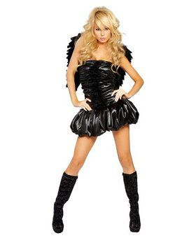 Adult Sexy Dark Angel Costume